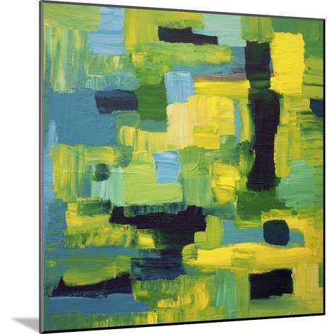 Cubic Abstract-Hilary Winfield-Mounted Giclee Print