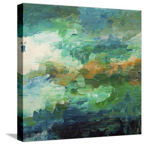 Botanical Garden-Hilary Winfield-Stretched Canvas Print
