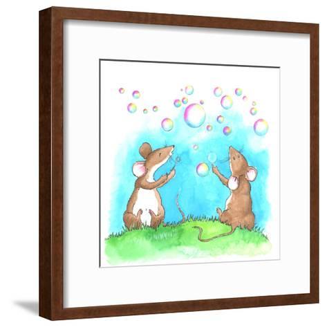 Bubble and Squeak-Emma Graham-Framed Art Print