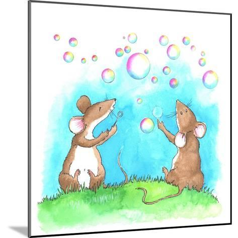 Bubble and Squeak-Emma Graham-Mounted Giclee Print