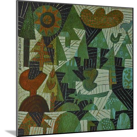 Fox in the Woods-Hilke Macintyre-Mounted Giclee Print