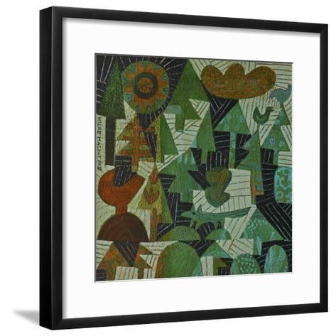 Fox in the Woods-Hilke Macintyre-Framed Art Print