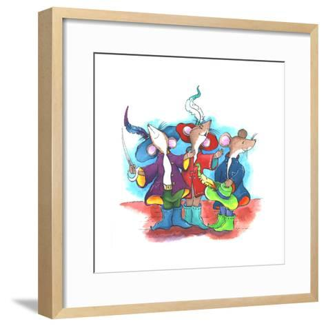 The Three Mouseketeers-Emma Graham-Framed Art Print