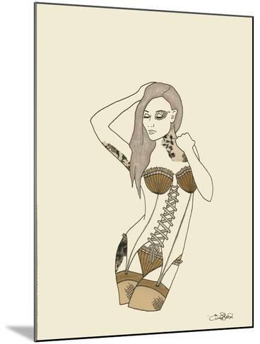 Pin Up-Emma Steel-Mounted Giclee Print