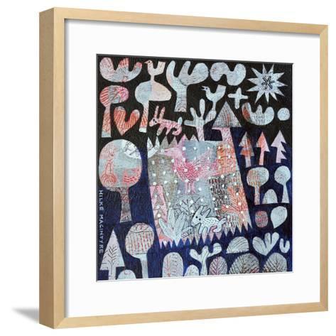 Rabbit in the Woods-Hilke Macintyre-Framed Art Print
