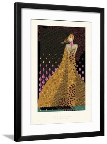 Lady and Tulips-FS Studio-Framed Art Print