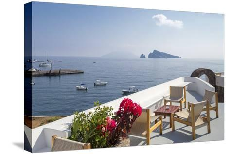 Panarea - Wide-Giuseppe Torre-Stretched Canvas Print
