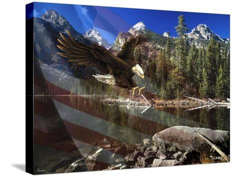Color of Glory-Gordon Semmens-Stretched Canvas Print