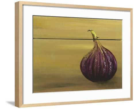 Red Onion on a Box-Gigi Begin-Framed Art Print