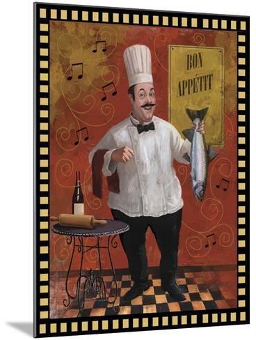 Chef Fish Master Design-Frank Harris-Mounted Giclee Print