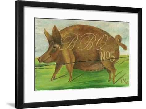 BBQ No.5-Gigi Begin-Framed Art Print