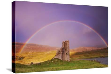 Ardvreck Castle- Everlook Photography-Stretched Canvas Print