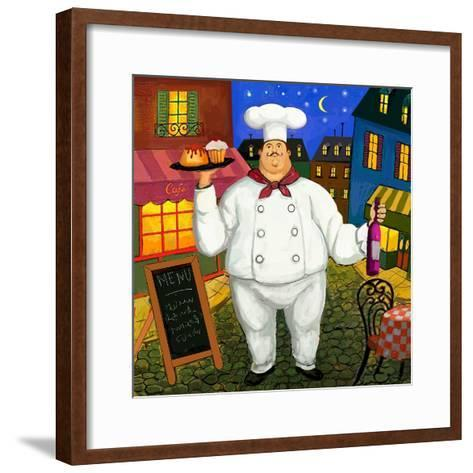 Pastry Chef Master-Frank Harris-Framed Art Print