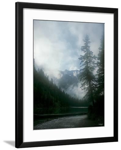 Glacier A-Gordon Semmens-Framed Art Print