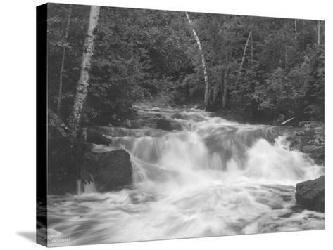 Falls 2-Gordon Semmens-Stretched Canvas Print
