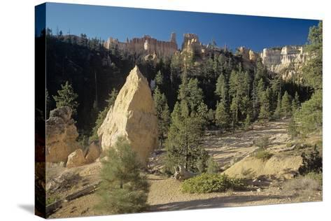 Bryce Canyon-Gordon Semmens-Stretched Canvas Print