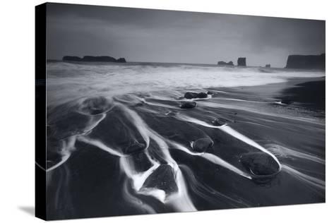 Kirkjufjara- Everlook Photography-Stretched Canvas Print
