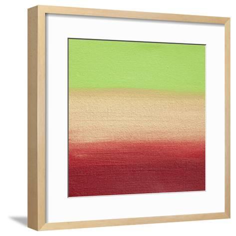 Ten Sunsets - Canvas 5-Hilary Winfield-Framed Art Print