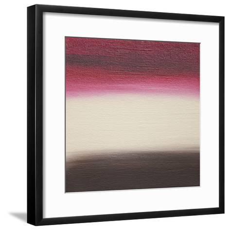 Ten Sunsets - Canvas 4-Hilary Winfield-Framed Art Print
