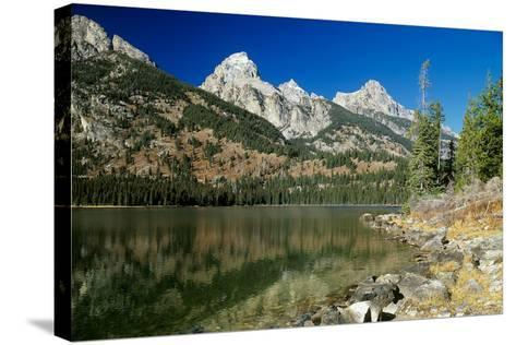 Grand Teton 03-Gordon Semmens-Stretched Canvas Print