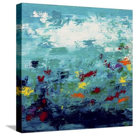 Color Garden 2-Hilary Winfield-Stretched Canvas Print