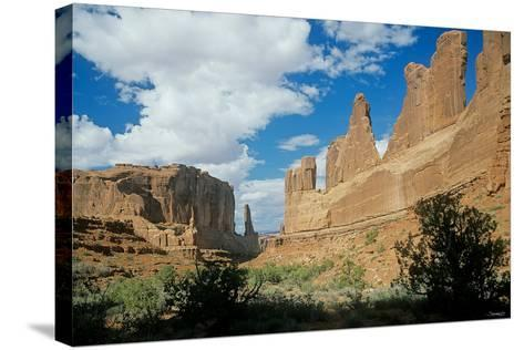 Arches-Gordon Semmens-Stretched Canvas Print