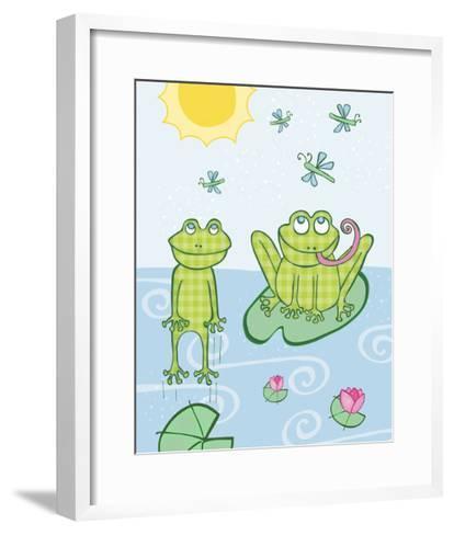 Frogs-Esther Loopstra-Framed Art Print