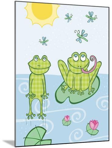 Frogs-Esther Loopstra-Mounted Giclee Print
