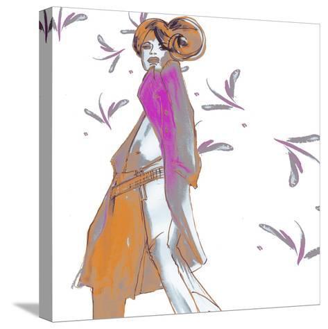Cat Walk Chic-FS Studio-Stretched Canvas Print