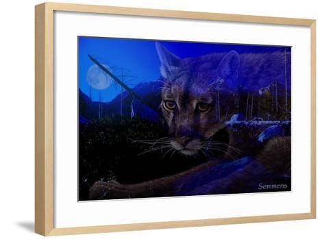 Silent Night 2-Gordon Semmens-Framed Art Print