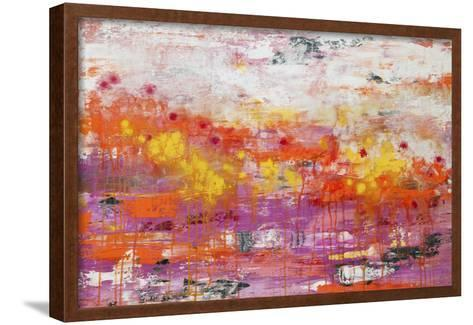 Lithosphere 109-Hilary Winfield-Framed Art Print
