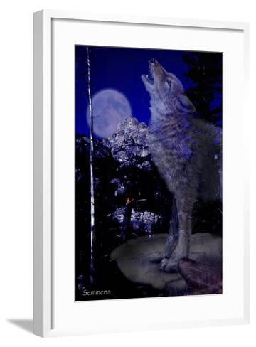 Blue Moon-Gordon Semmens-Framed Art Print