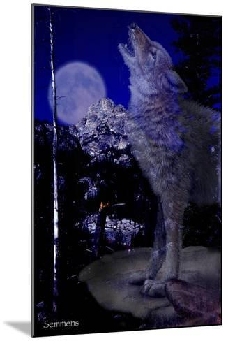 Blue Moon-Gordon Semmens-Mounted Giclee Print