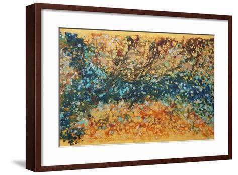 Liquid Energy 20-Hilary Winfield-Framed Art Print