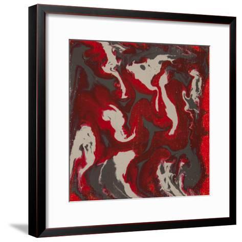 Liquid Industrial IIII - Canvas IX-Hilary Winfield-Framed Art Print