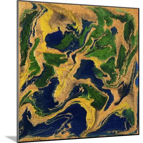 Liquid Industrial IIII - Canvas V-Hilary Winfield-Mounted Giclee Print