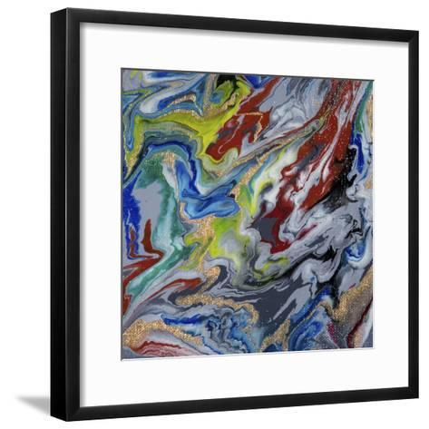 Liquid Industrial IIII - Canvas X-Hilary Winfield-Framed Art Print