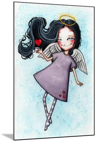 Angel of Love-Helena Reis-Mounted Giclee Print