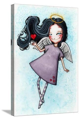 Angel of Love-Helena Reis-Stretched Canvas Print