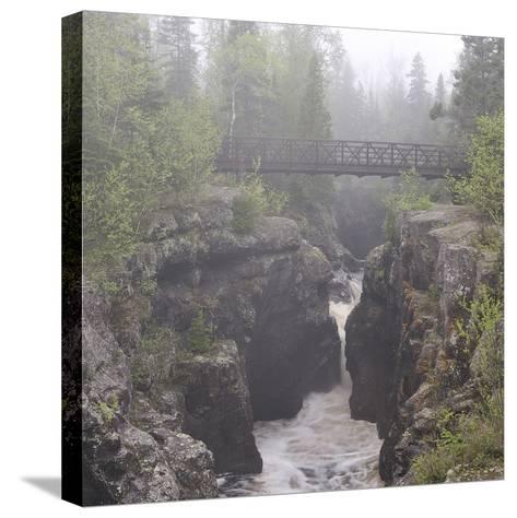 Lake Superior 49s-Gordon Semmens-Stretched Canvas Print