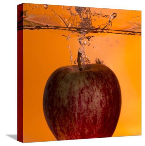 Apple Underwater-Gordon Semmens-Stretched Canvas Print