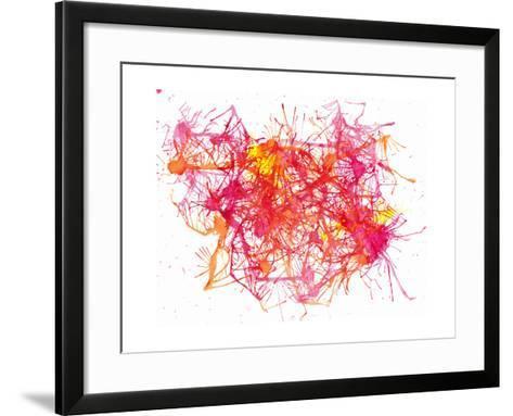 Splatters 2-Hello Angel-Framed Art Print