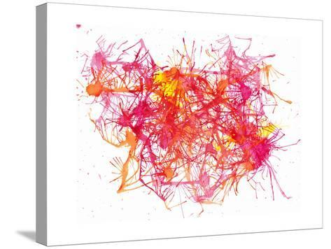 Splatters 2-Hello Angel-Stretched Canvas Print