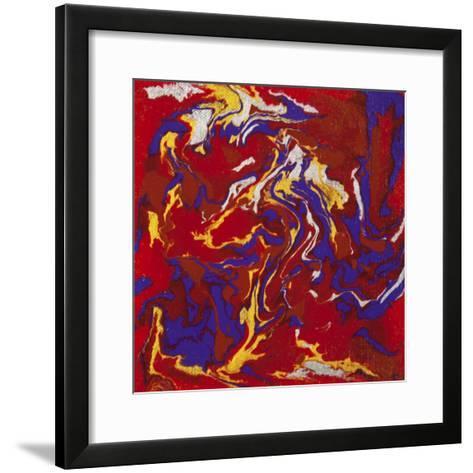 Liquid Industrial IIII - Canvas XV-Hilary Winfield-Framed Art Print