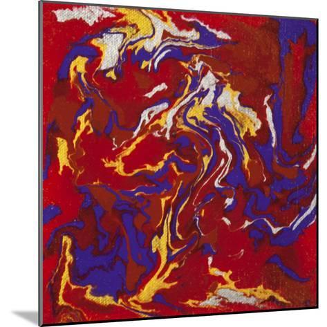 Liquid Industrial IIII - Canvas XV-Hilary Winfield-Mounted Giclee Print