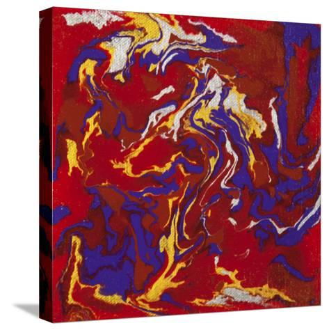 Liquid Industrial IIII - Canvas XV-Hilary Winfield-Stretched Canvas Print