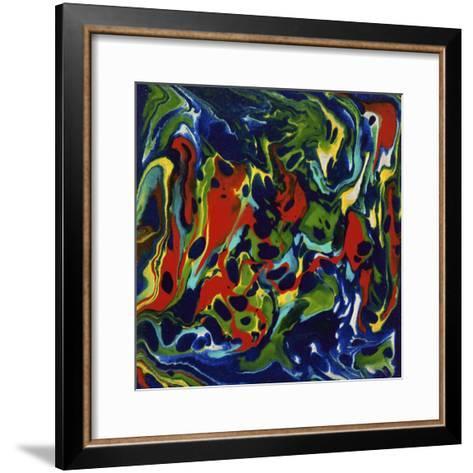 Liquid Industrial IIII - Canvas XX-Hilary Winfield-Framed Art Print