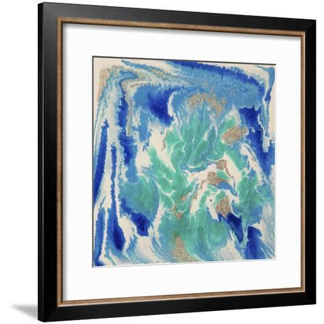 Liquid Industrial IIII - Canvas XVII-Hilary Winfield-Framed Art Print