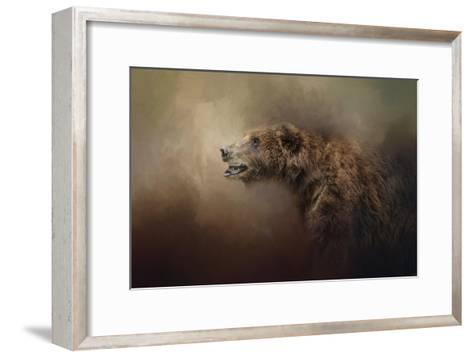Morning Grizzly-Jai Johnson-Framed Art Print