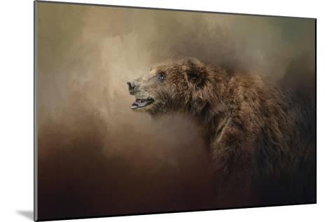 Morning Grizzly-Jai Johnson-Mounted Giclee Print